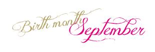09月誕生日