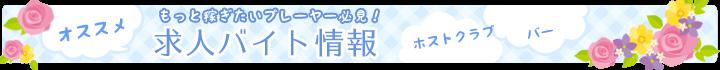 愛媛県松山市のホストクラブ情報満載のナビパラネットがおすすめする高収入・高時給のホストクラブ、バーなどの求人バイト情報