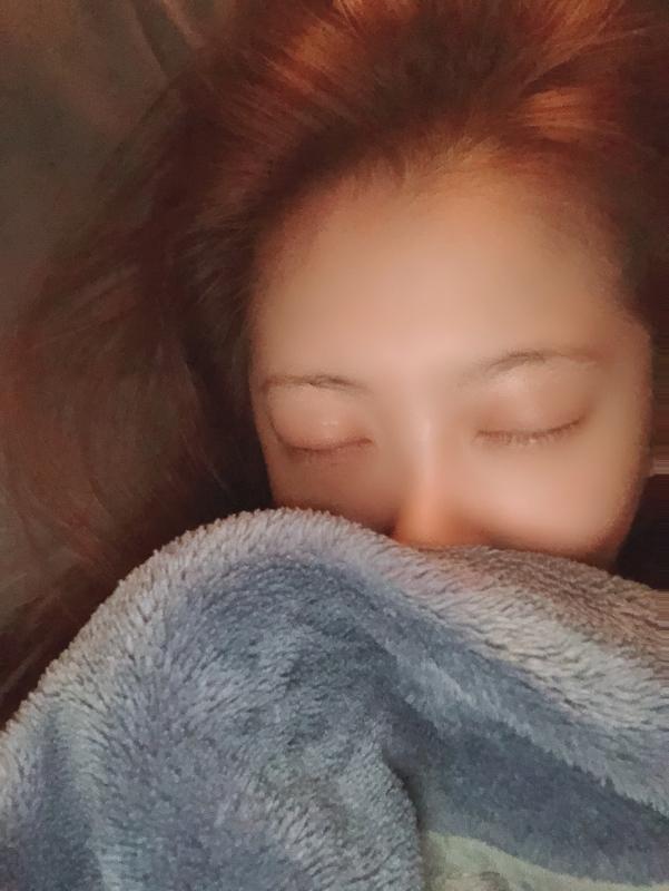 まりあ|寝顔こんな感じなの?