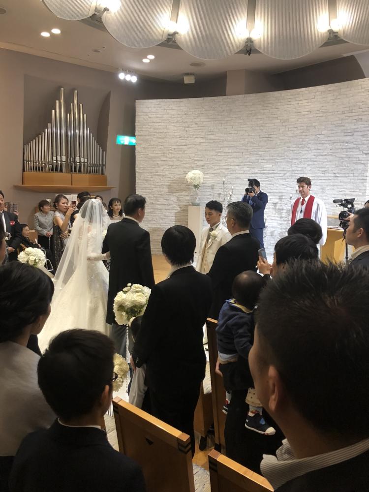 一条 大夢|結婚式