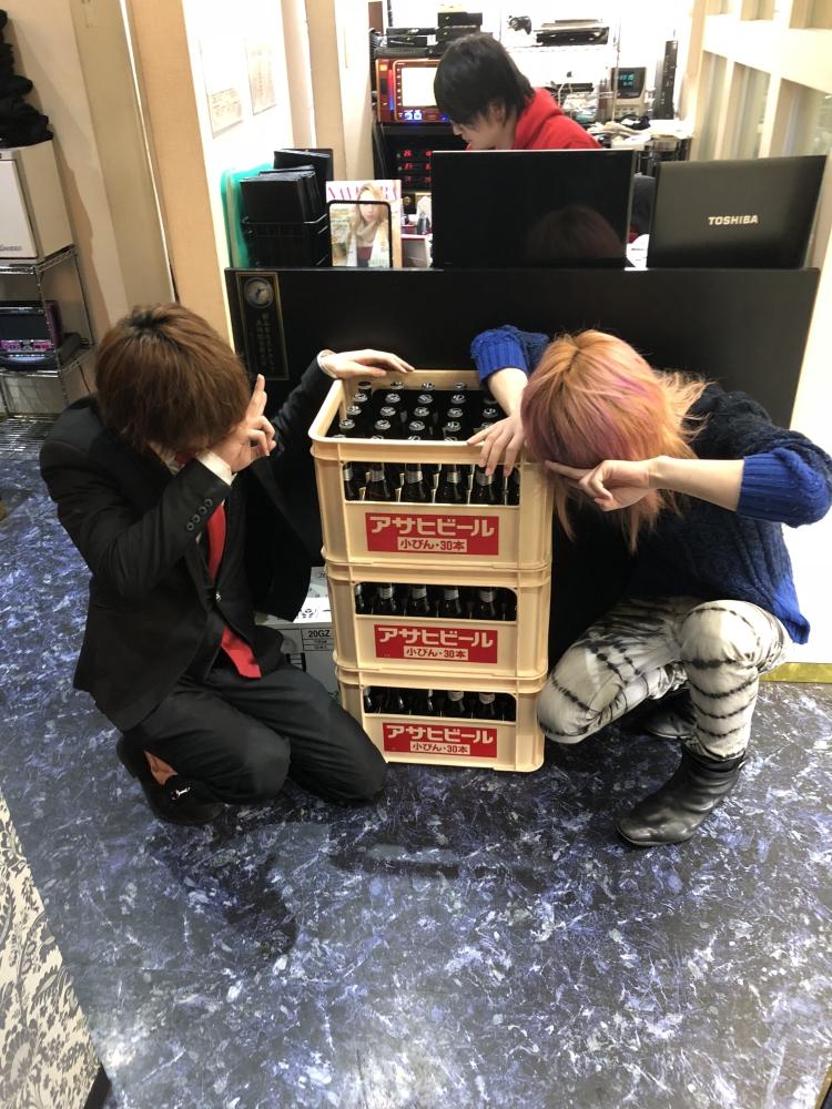 翠咲|瓶ビール100本チャレンジ