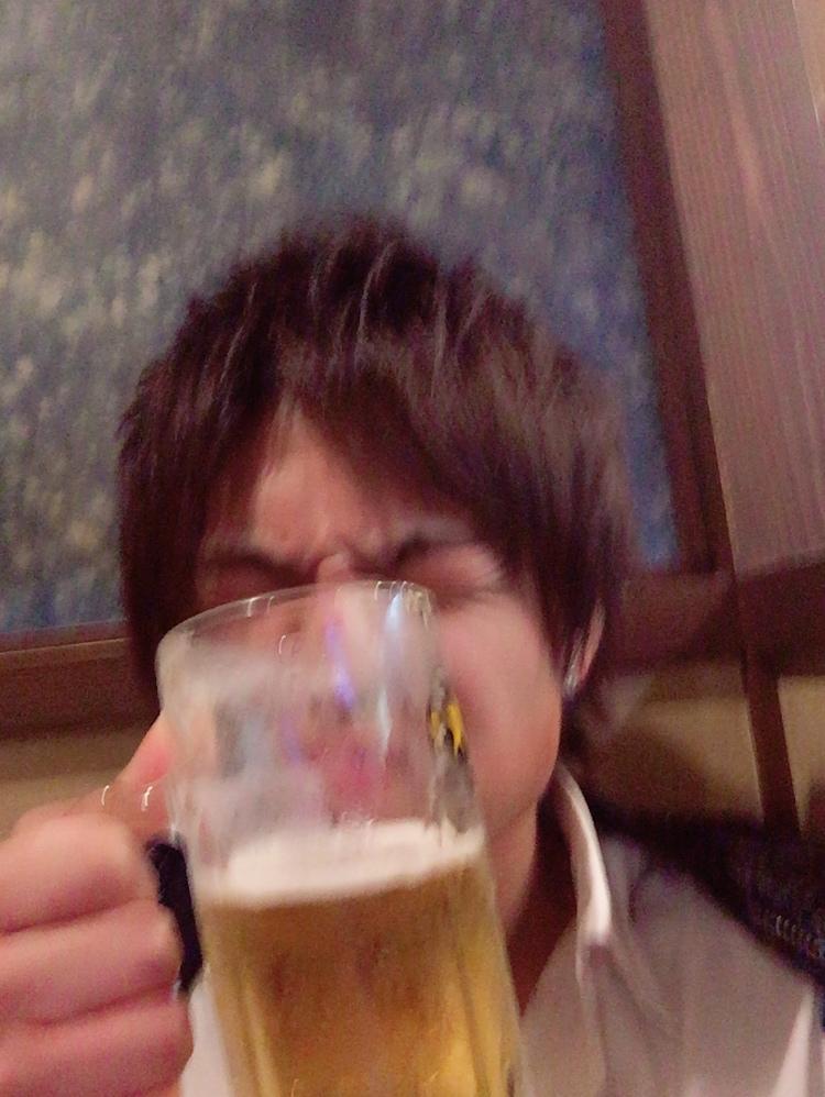 天 休日~ビール~イェーイ🍺