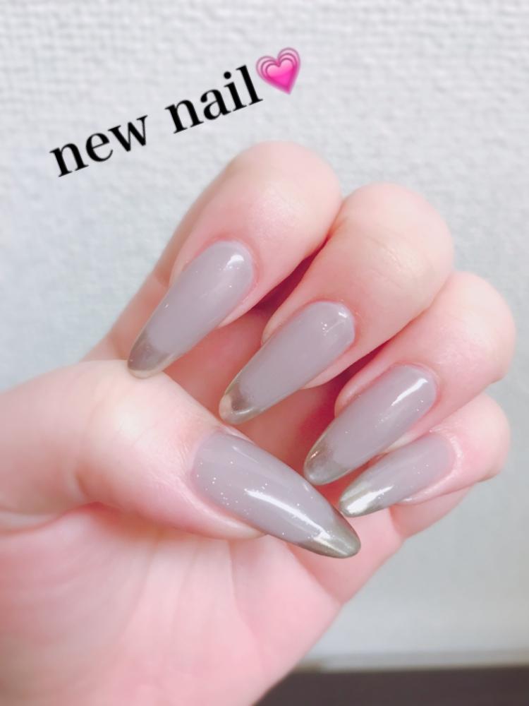 なぎさ|New nail( ¨̮ )︎︎❤︎︎