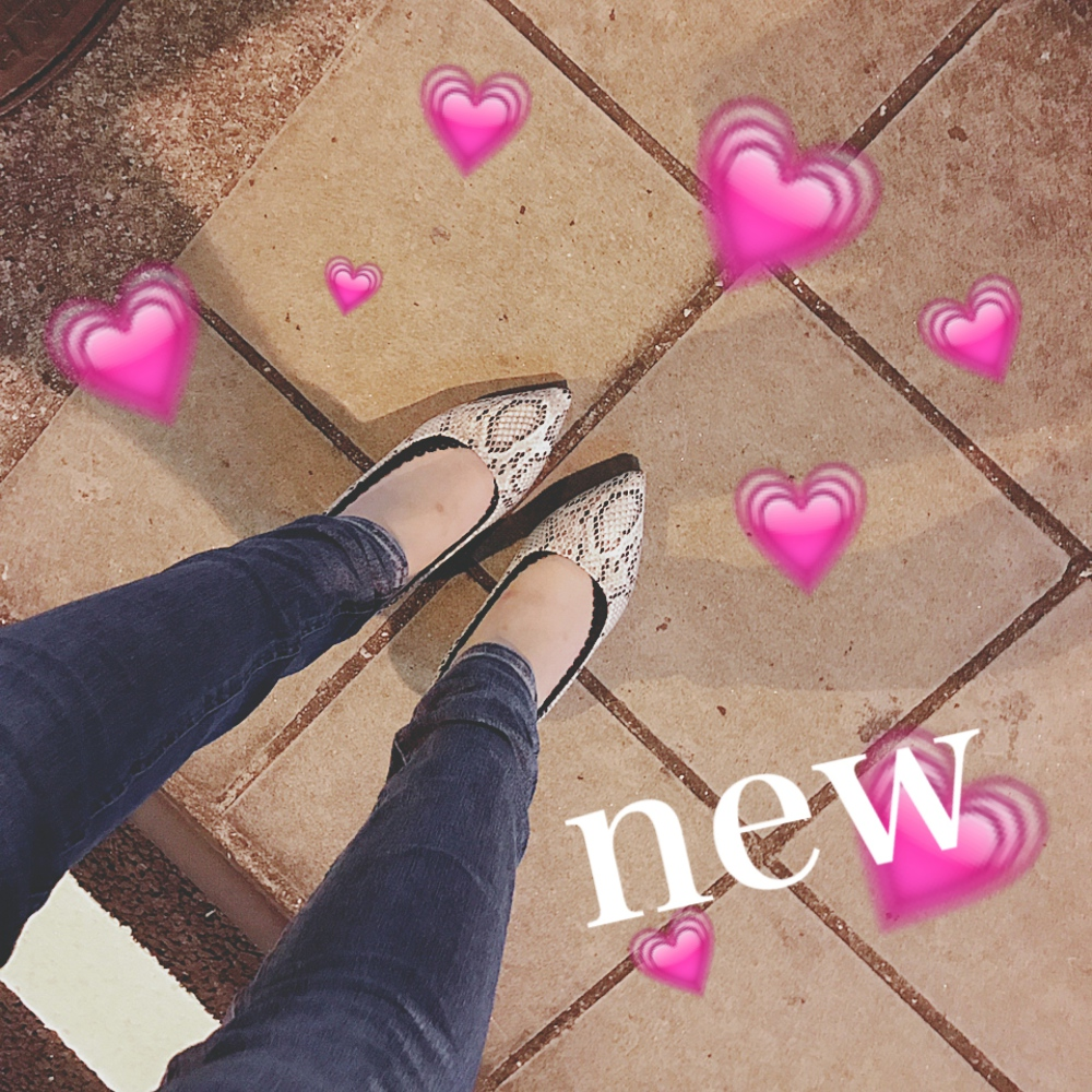 なぎさ|new shoes( ¨̮ )︎︎❤︎︎
