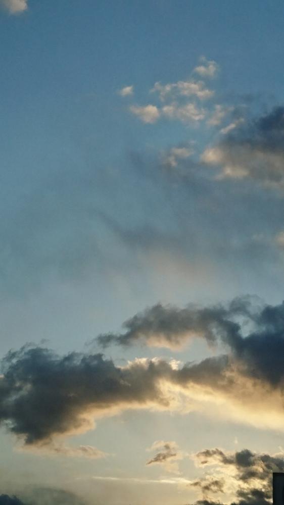 かつき 朝の空