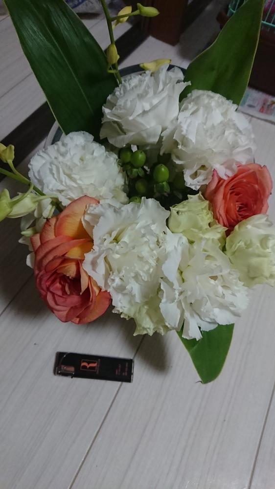 かつき|お誕生日にいただいたお花⋆*❁*
