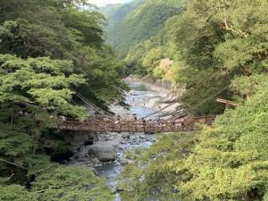 さき かずら橋