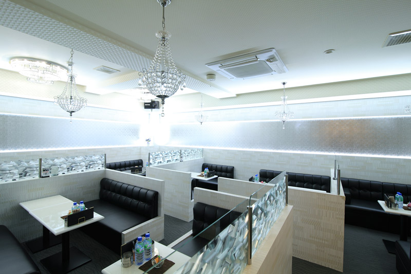 club Melty[キャバクラ/愛媛県松山市]の店内イメージ 統一されたスタイリッシュな店内☆